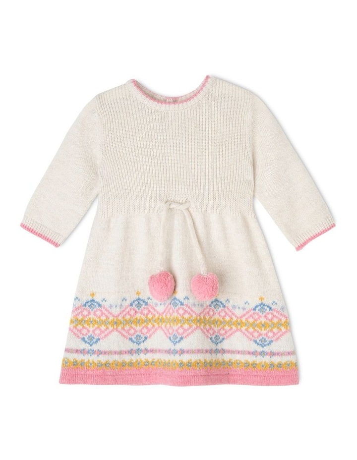 Sophie Knitted Long Sleeve Dress image 1