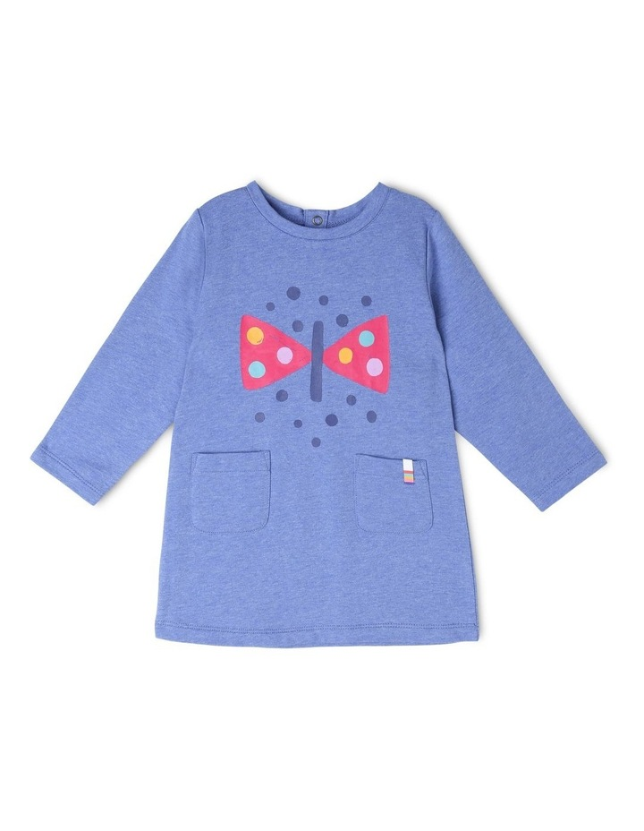 Josie Long Sleeve French Terry Dress image 1