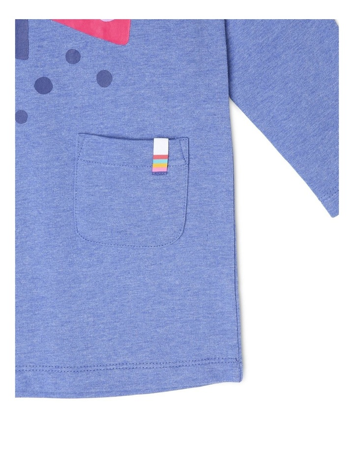Josie Long Sleeve French Terry Dress image 3