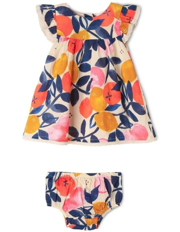 20827520552 Jack & MillyFreya Woven Dress and Bloomer Set. Jack & Milly Freya Woven  Dress and Bloomer Set