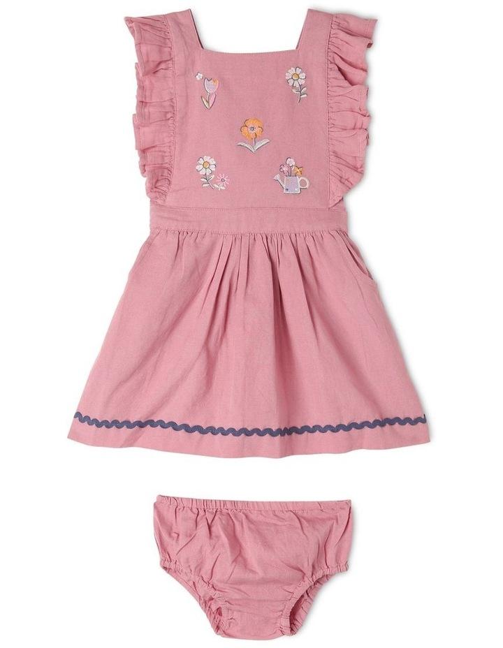 Lulu Linen Blend Pinafore Dress image 1