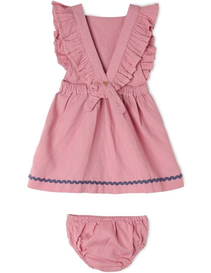 Lulu Linen Blend Pinafore Dress image 2
