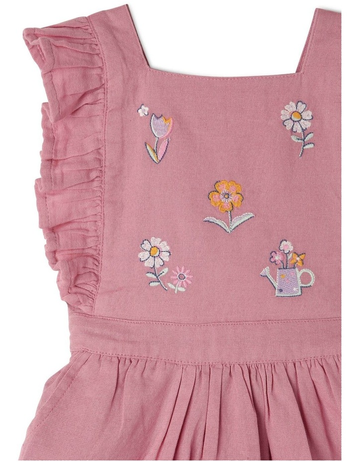 Lulu Linen Blend Pinafore Dress image 3