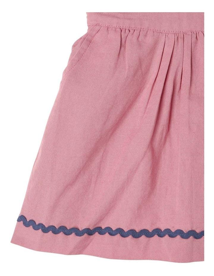 Lulu Linen Blend Pinafore Dress image 4
