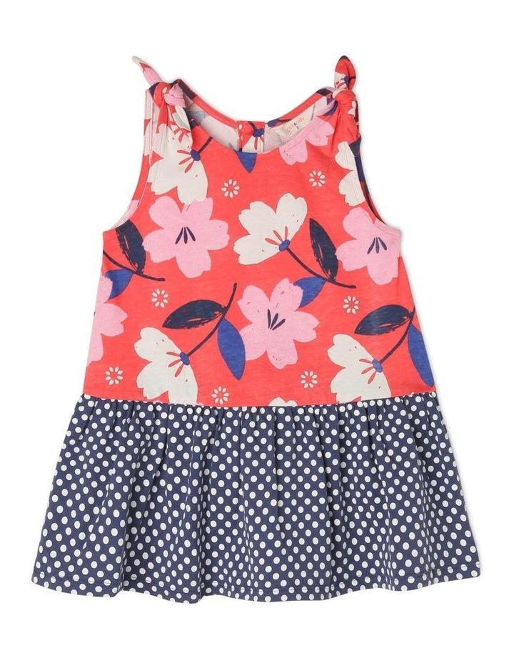 Ruby Knit Dress With Peplum Frill image 1