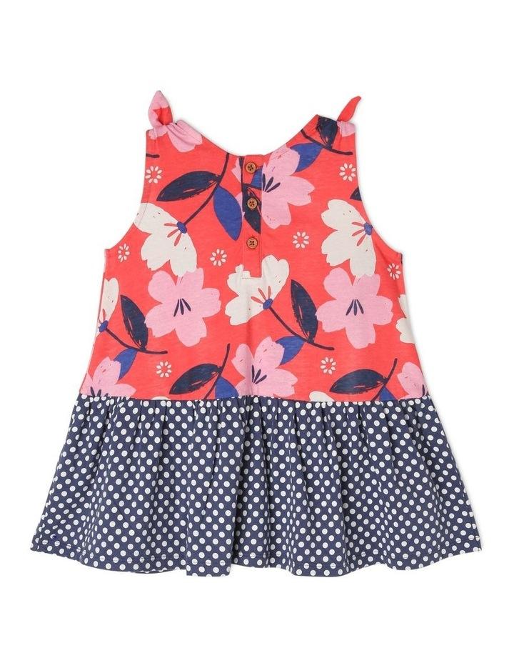 Ruby Knit Dress With Peplum Frill image 2