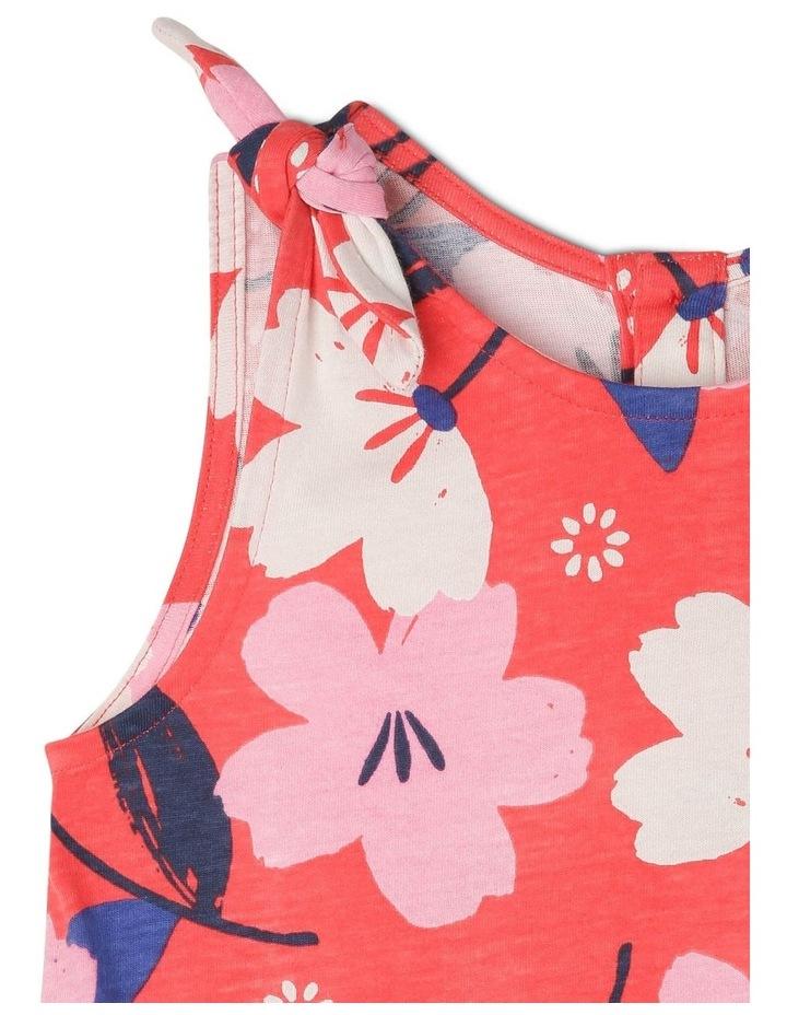 Ruby Knit Dress With Peplum Frill image 3