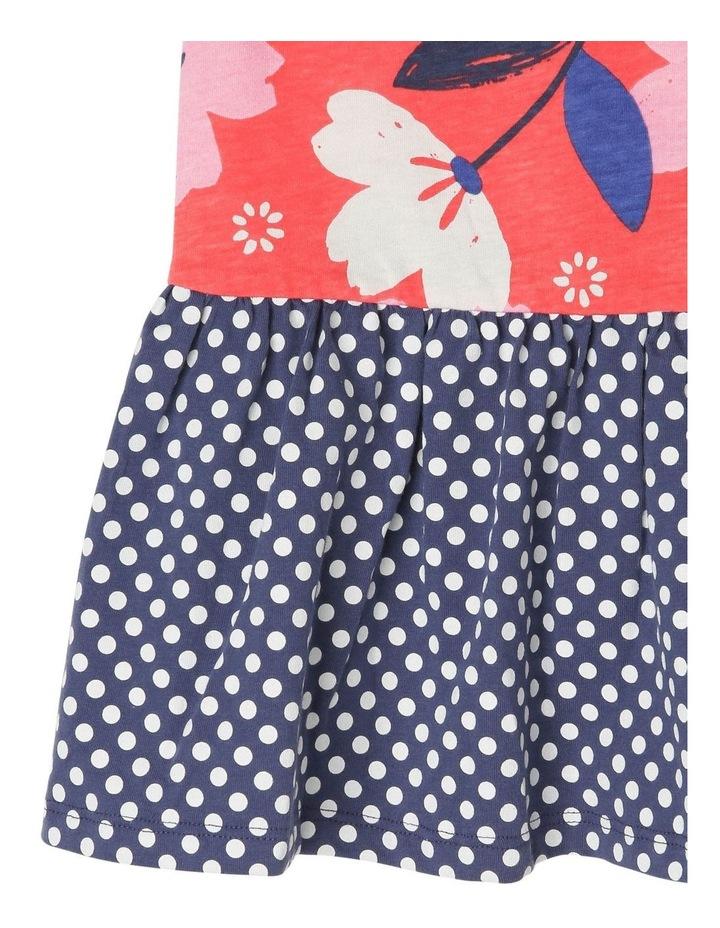Ruby Knit Dress With Peplum Frill image 4