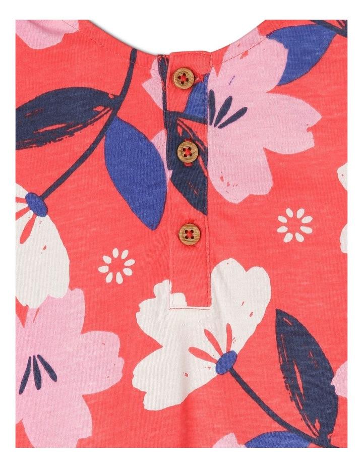 Ruby Knit Dress With Peplum Frill image 5