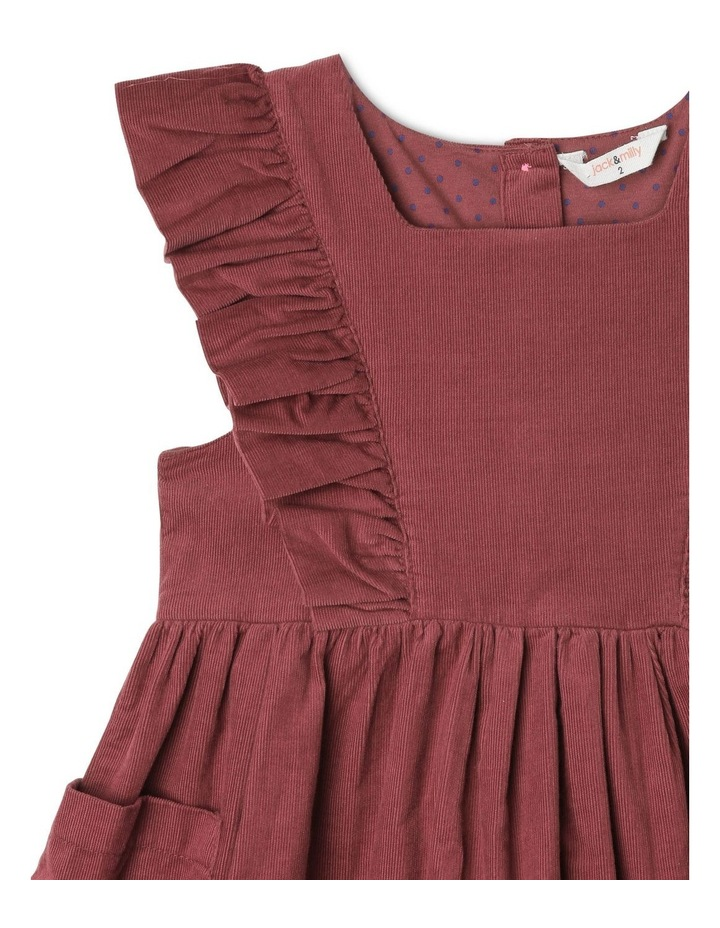 Betty Corduroy Pinafore Dress with Pockets image 2