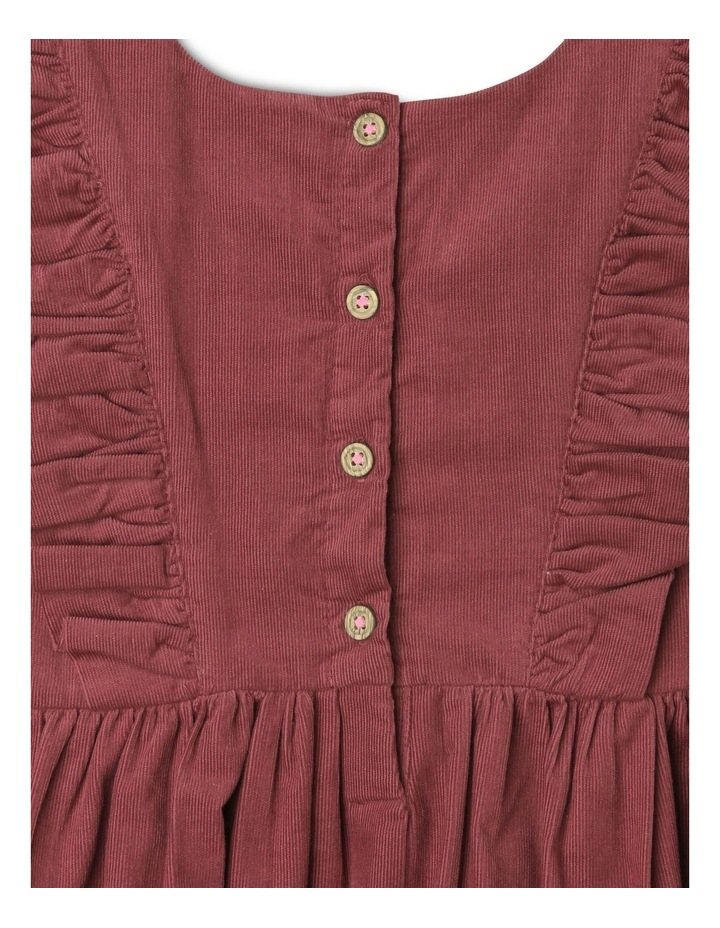 Betty Corduroy Pinafore Dress with Pockets image 4