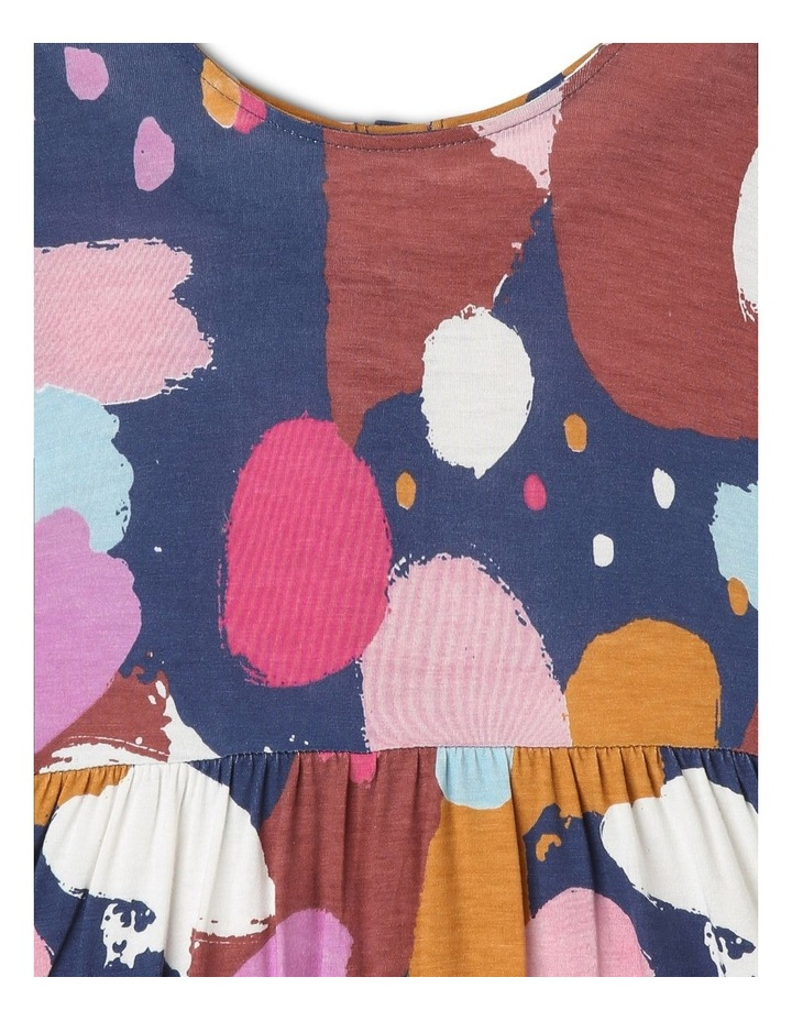 Jemima Knit Dress with Double-Peplum Frill Hem image 3