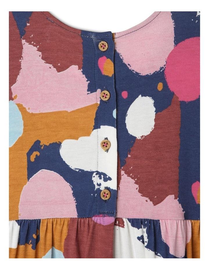 Jemima Knit Dress with Double-Peplum Frill Hem image 4