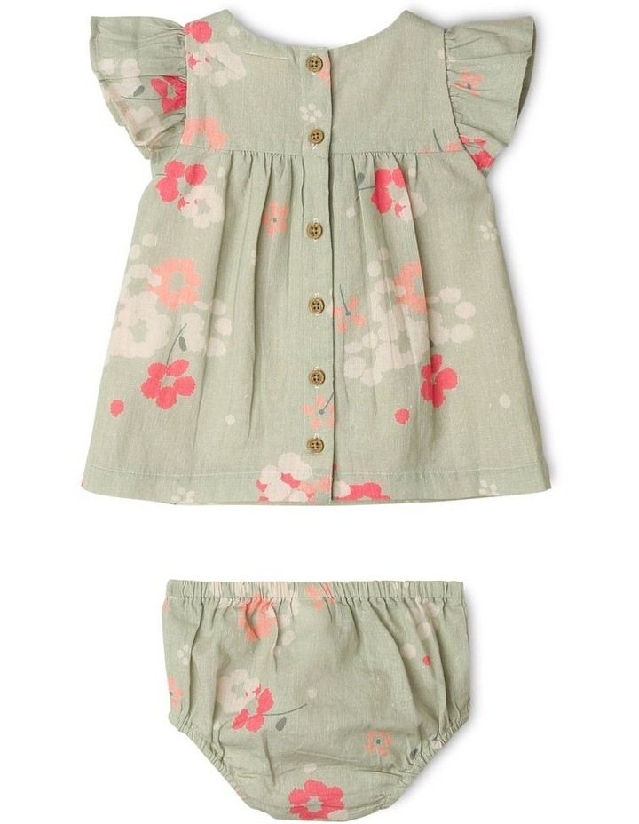 Alice Woven Flutter Sleeve Dress image 2
