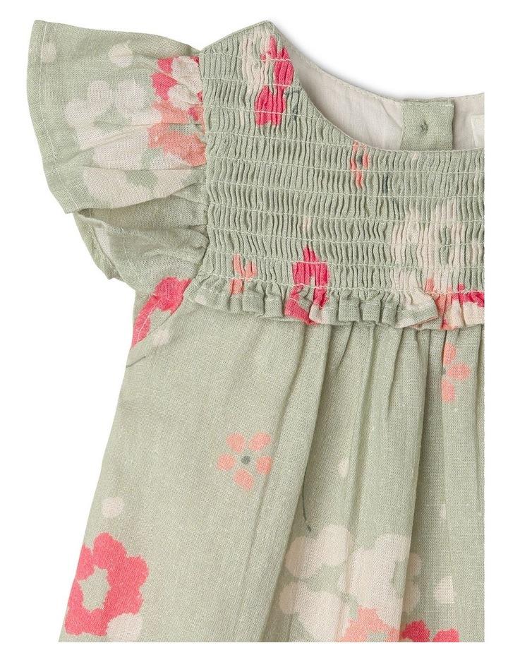 Alice Woven Flutter Sleeve Dress image 3