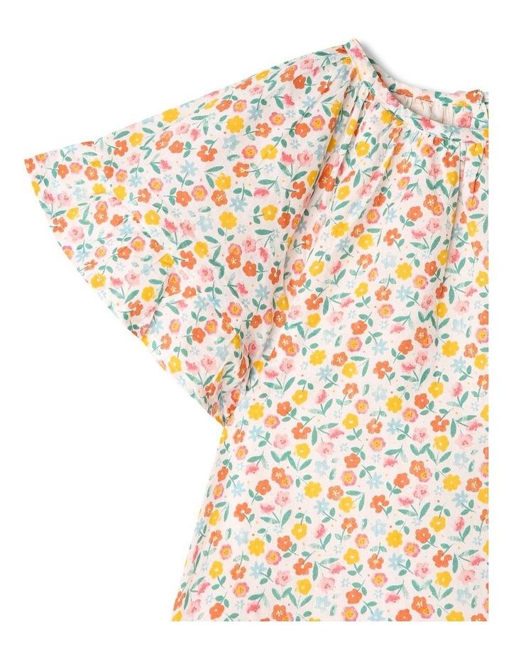 Peri Woven Flutter Sleeve Dress image 2
