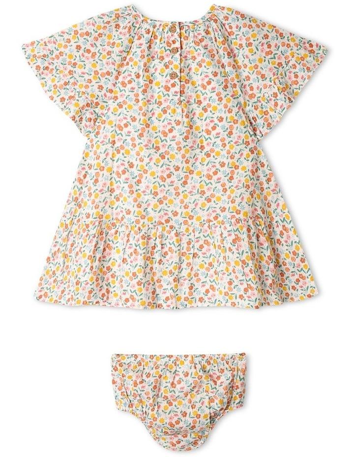 Peri Woven Flutter Sleeve Dress image 3