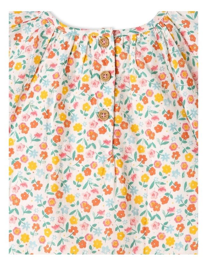 Peri Woven Flutter Sleeve Dress image 4