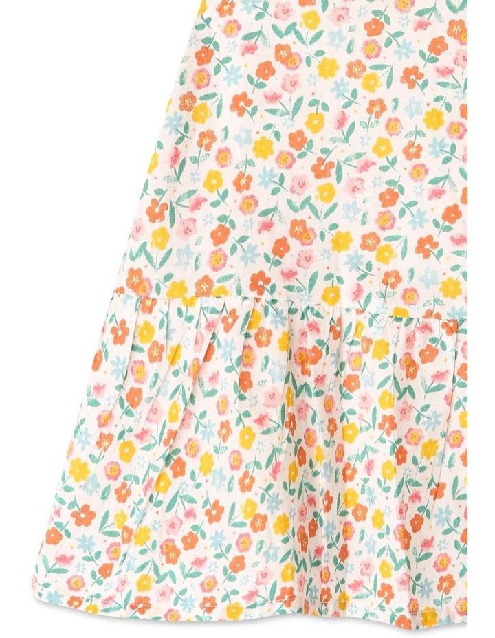 Peri Woven Flutter Sleeve Dress image 5