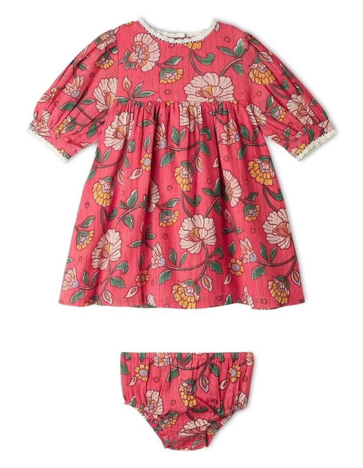 Winnie Woven Lurex Stripe Dress image 1