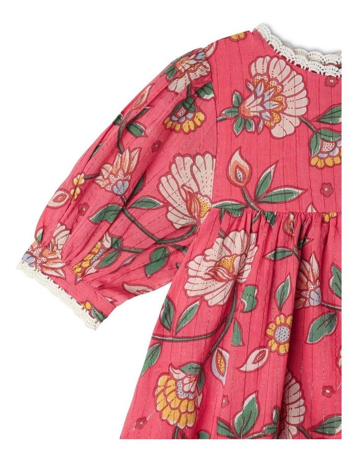 Winnie Woven Lurex Stripe Dress image 3