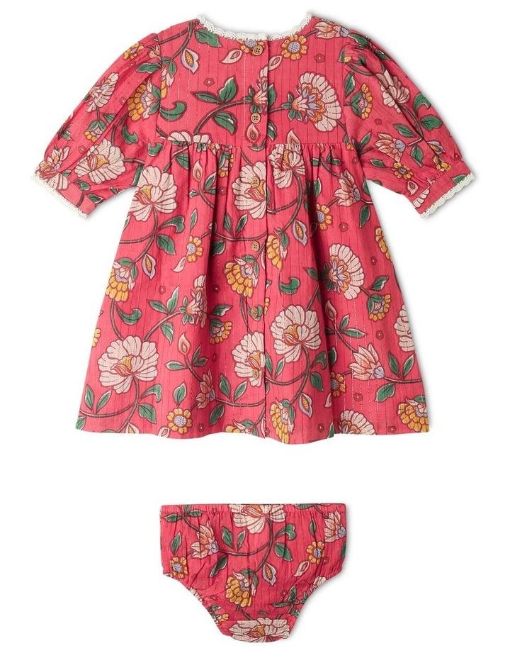 Winnie Woven Lurex Stripe Dress image 4
