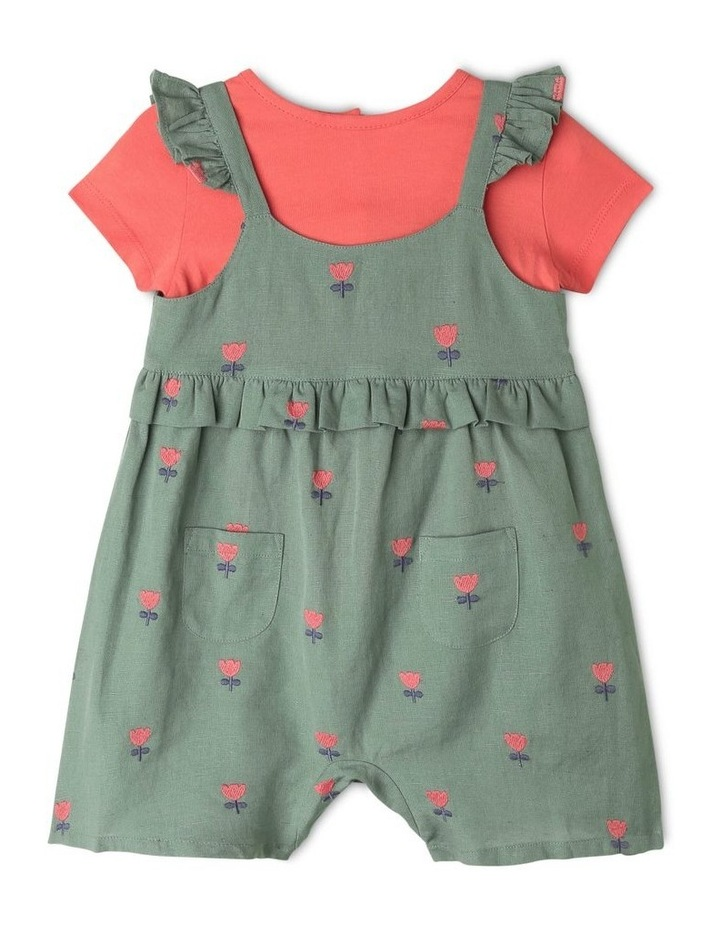Clara Linen Blend Playsuit & Tee Set image 1