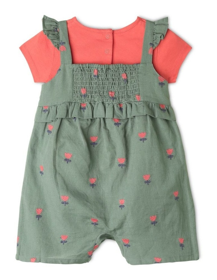 Clara Linen Blend Playsuit & Tee Set image 4