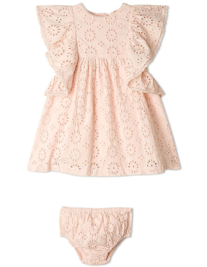 Wendy Woven Embroidered Dress image 1