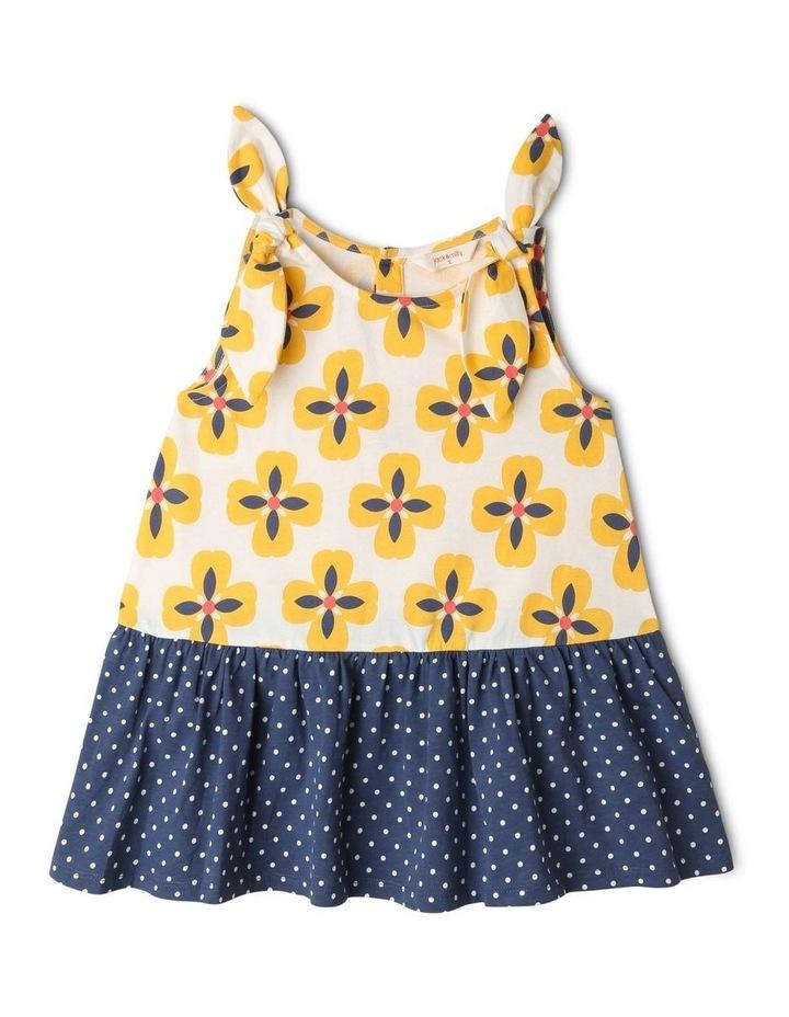 Juno Knit Peplum Frill Dress image 1