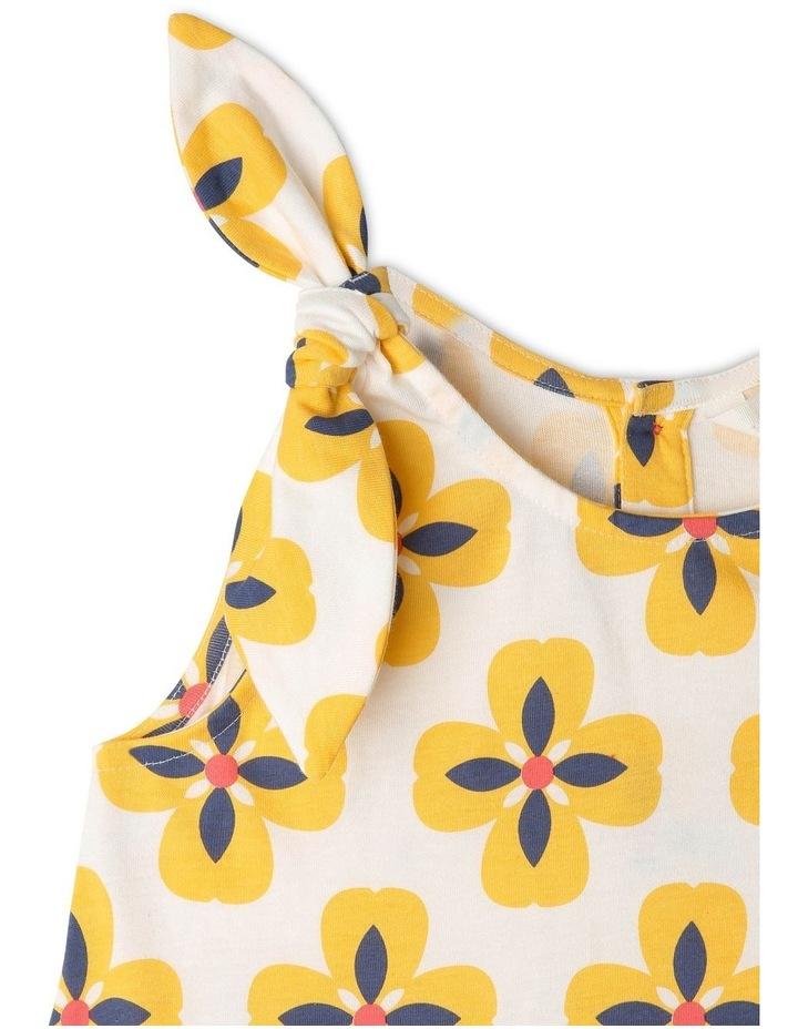 Juno Knit Peplum Frill Dress image 2