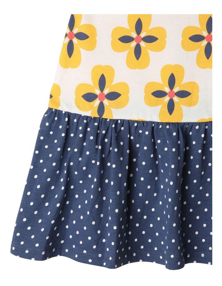 Juno Knit Peplum Frill Dress image 3