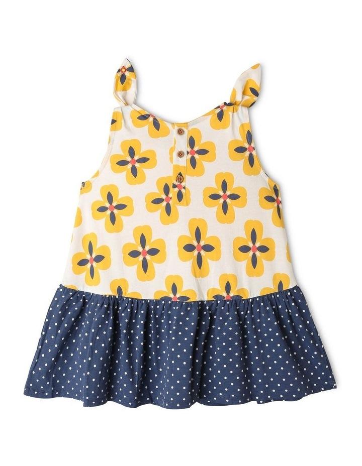 Juno Knit Peplum Frill Dress image 4