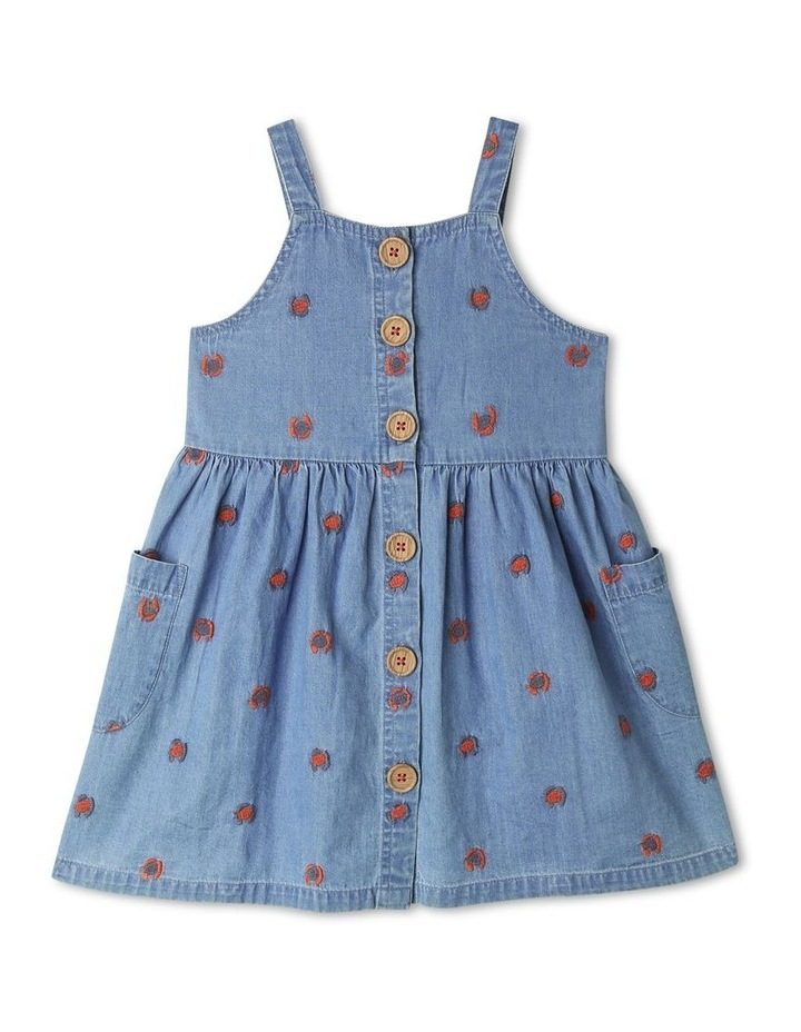 Pip Woven Pinafore Dress image 1
