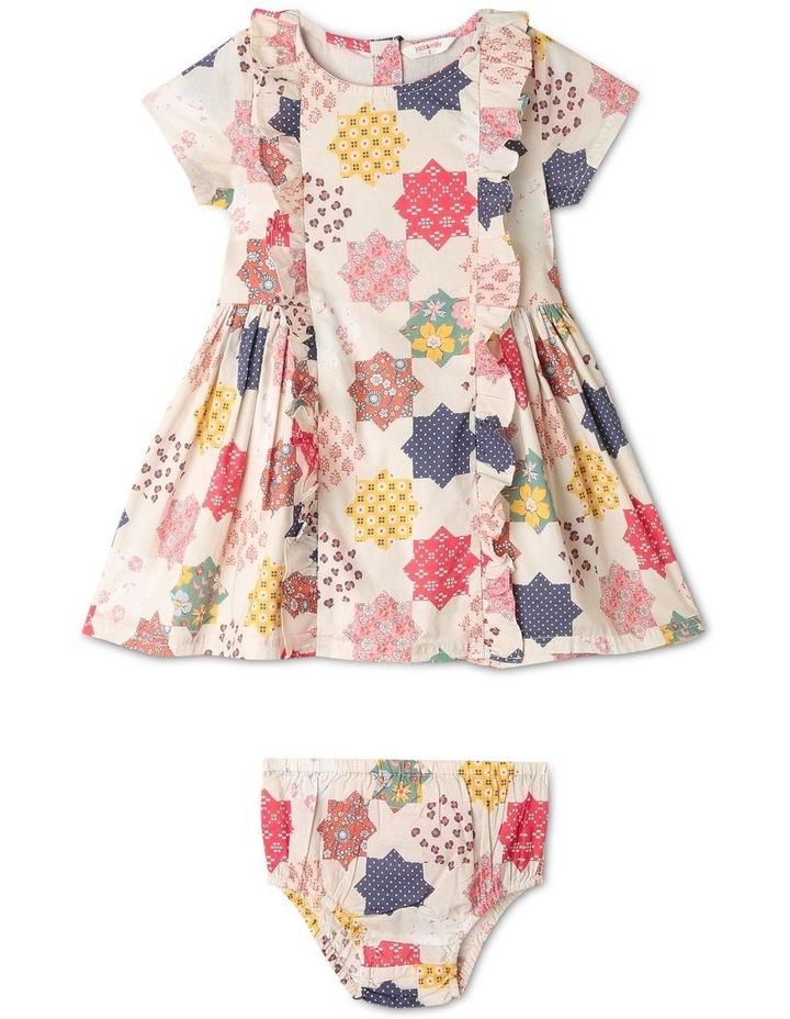 Freida Woven Ruffle Dress image 1