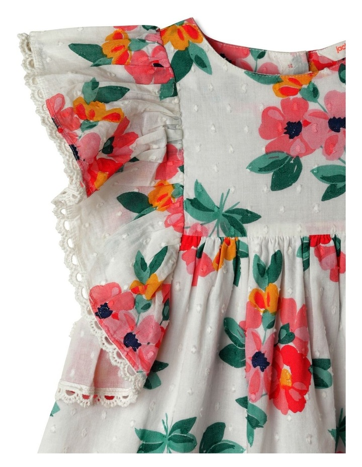 Wendy Woven Embroidered Dress image 2