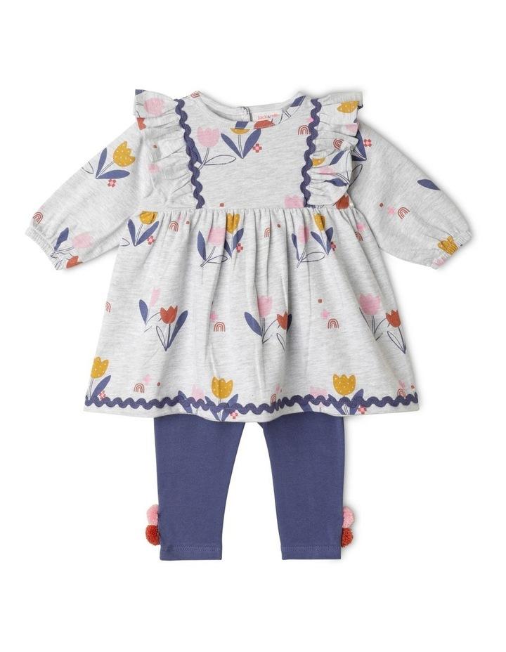 Bea Organic Knit Dress & Legging Set image 1