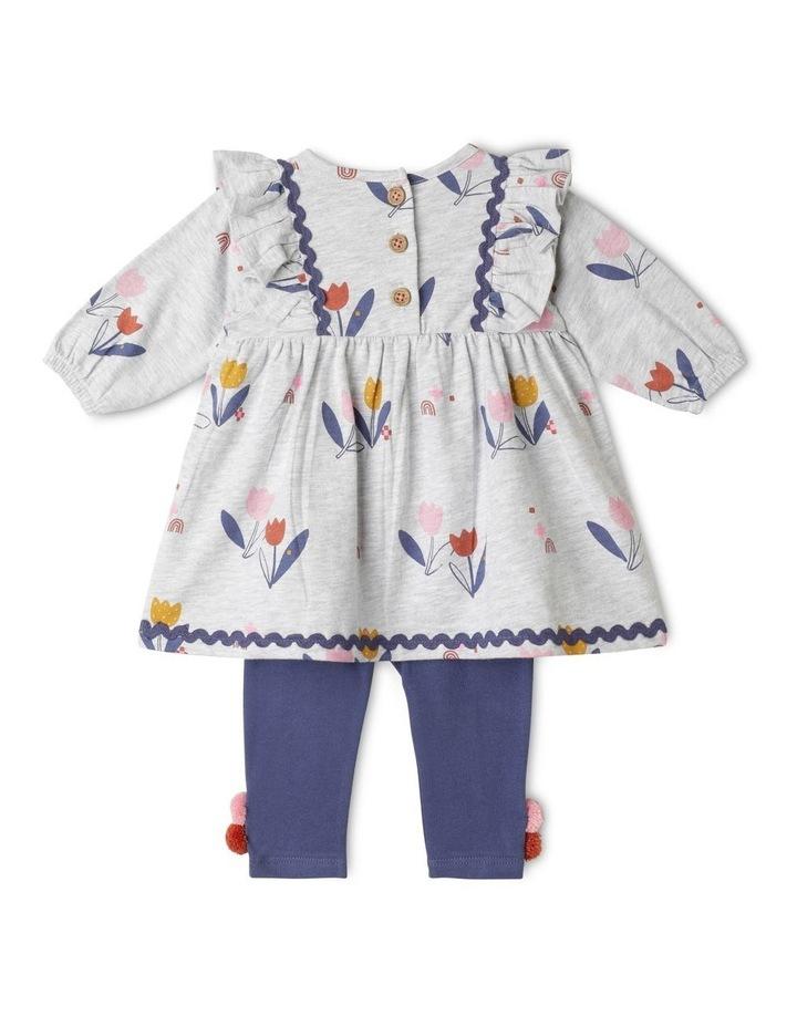 Bea Organic Knit Dress & Legging Set image 5