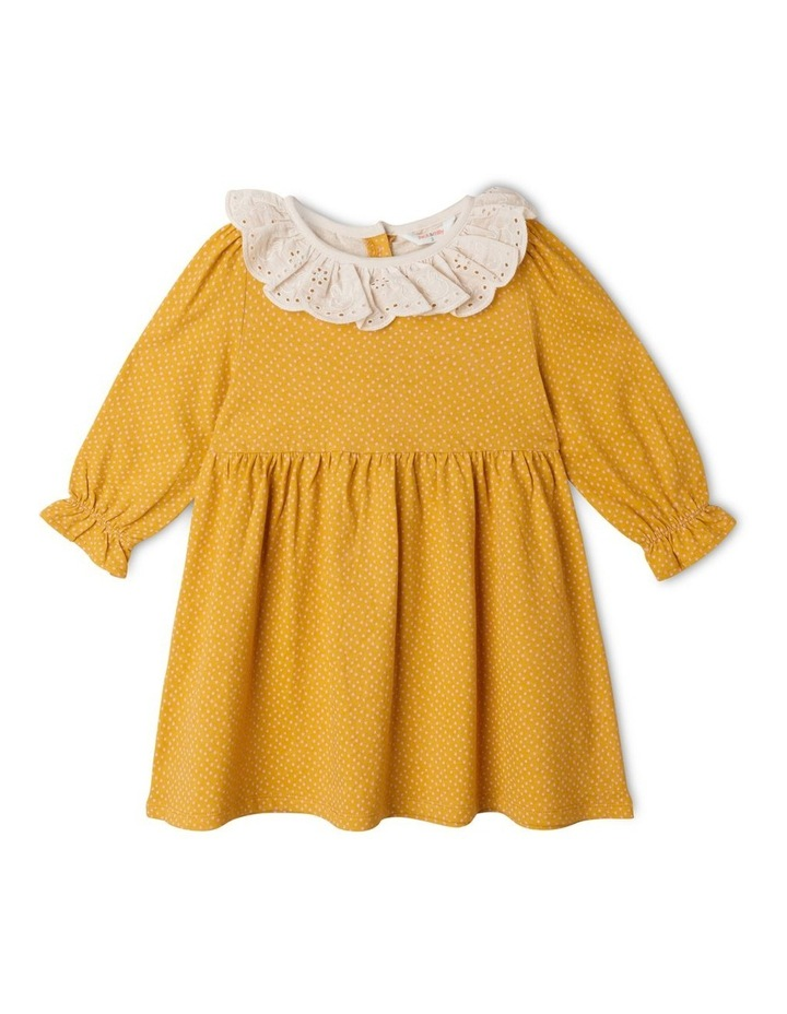 Clementine Long Sleeve Organic Knit Dress image 1
