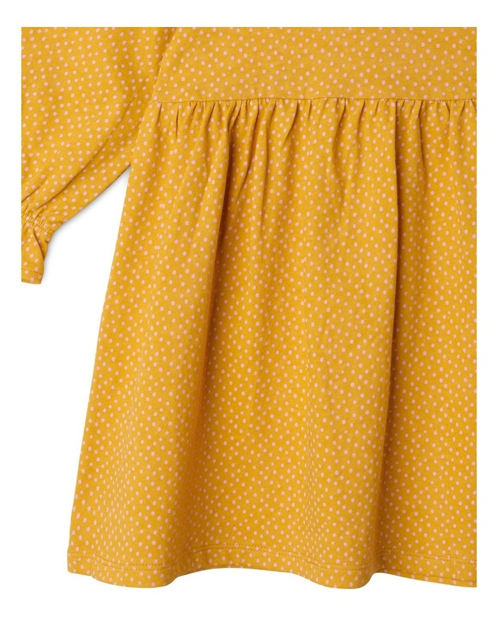 Clementine Long Sleeve Organic Knit Dress image 4