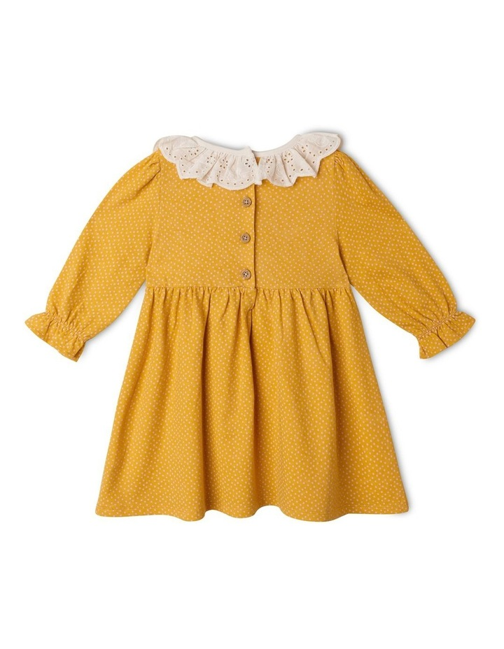 Clementine Long Sleeve Organic Knit Dress image 5