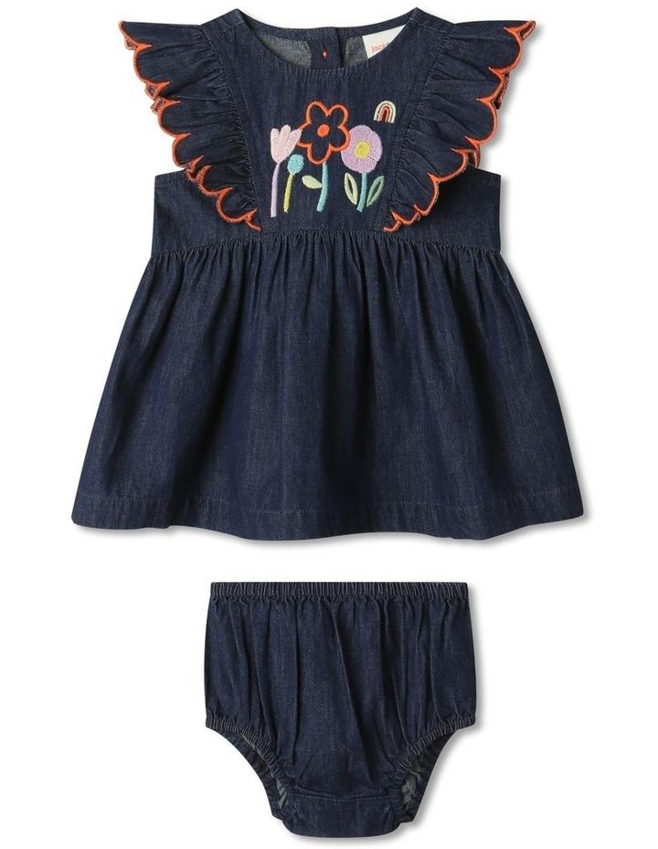 Sadie Denim Dress Set Chambray image 1