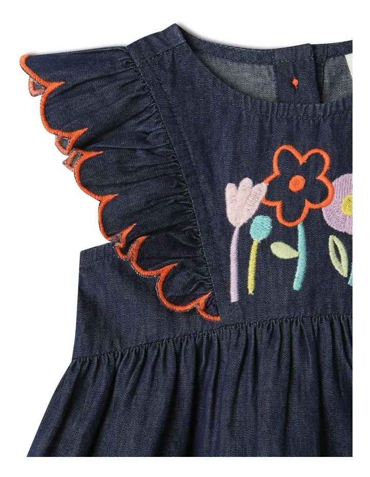 Sadie Denim Dress Set Chambray image 2