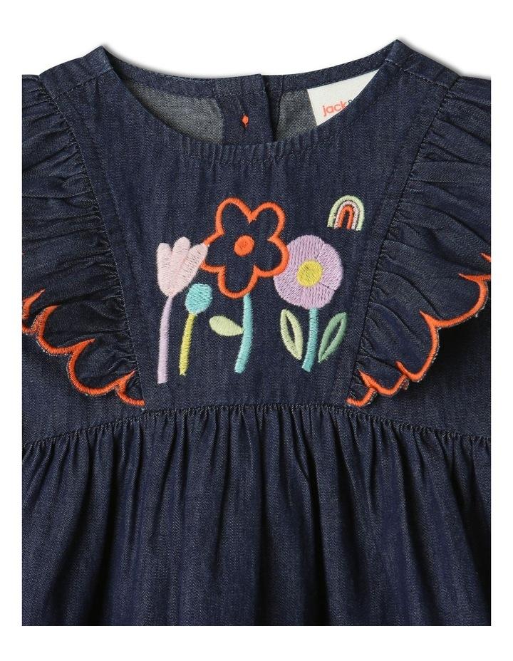 Sadie Denim Dress Set Chambray image 3