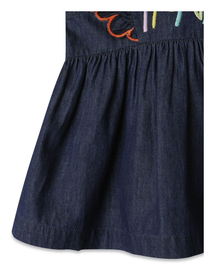 Sadie Denim Dress Set Chambray image 4