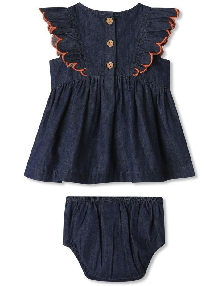 Sadie Denim Dress Set Chambray image 5