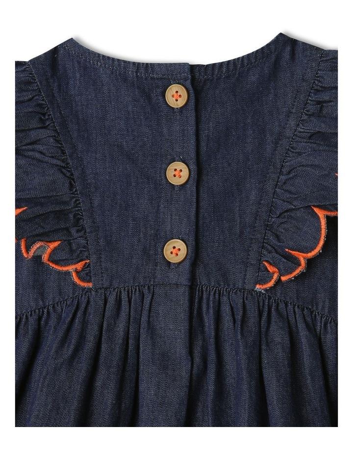 Sadie Denim Dress Set Chambray image 6