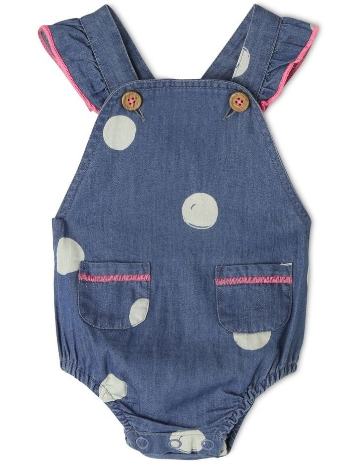 Ginger Chambray Shortall image 1