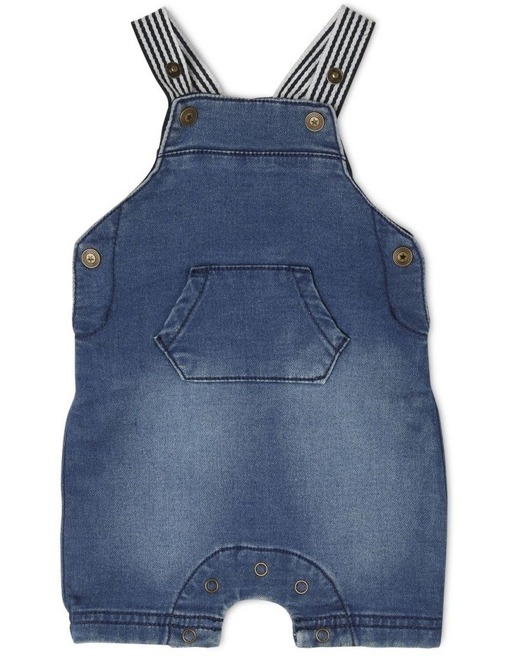 Sparky Knit Denim Overall image 1