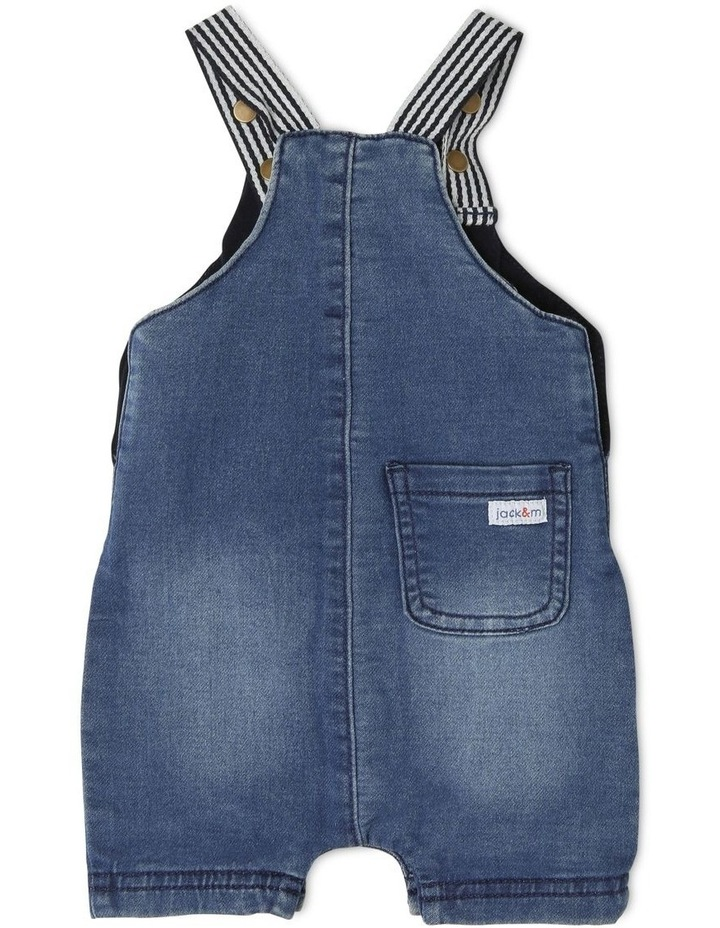 Sparky Knit Denim Overall image 2